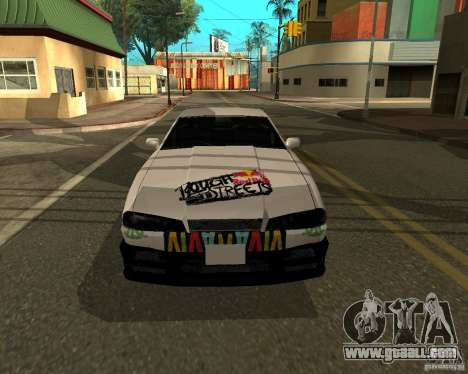 Vinyl for Elegy for GTA San Andreas back left view