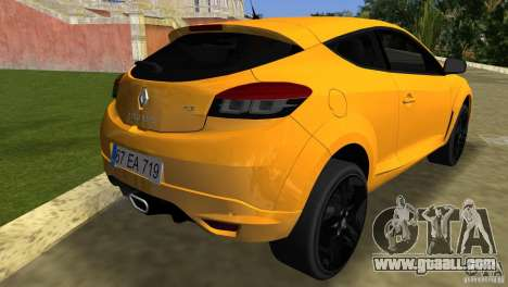 Renault Megane 3 Sport for GTA Vice City back left view