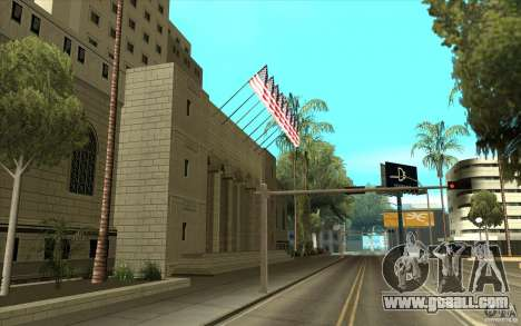 Improved texture of City Hall for GTA San Andreas second screenshot