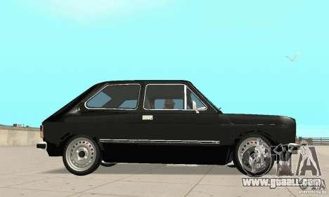 Fiat 147 Brio 1977 for GTA San Andreas right view