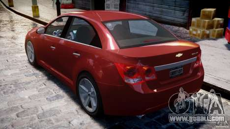 Chevrolet Cruze for GTA 4 upper view