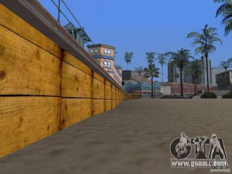 New Beach texture v2.0 for GTA San Andreas sixth screenshot