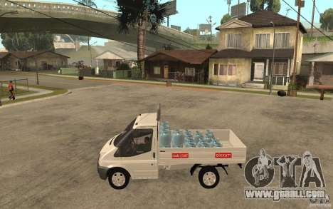 Ford Transit Pickup 2008 for GTA San Andreas left view
