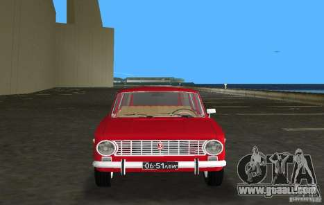 VAZ 2102 for GTA Vice City back view