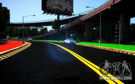 Different HD Roads for GTA 4 third screenshot