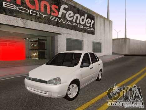 LADA Kalina sedan for GTA San Andreas