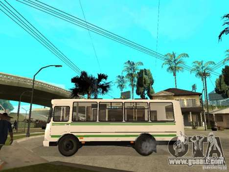 PAZ 3205 for GTA San Andreas left view