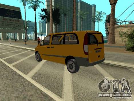 Mercedes-Benz Vito 2003 for GTA San Andreas left view