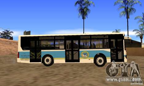Daewoo Bus BC211MA Almaty for GTA San Andreas right view