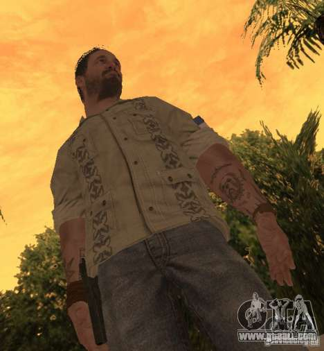 Frank Woods from Call of Duty Black Ops for GTA San Andreas second screenshot