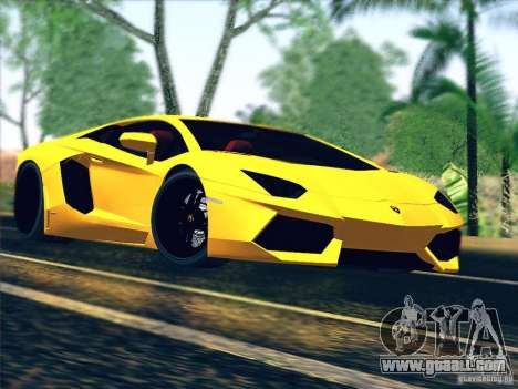 Lamborghini Aventador LP700-4 2011 V1.0 for GTA San Andreas side view