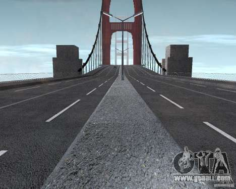 New textures of three bridges in SF for GTA San Andreas eighth screenshot