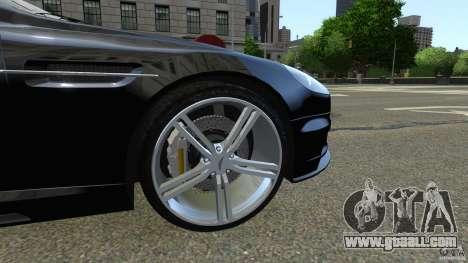 Aston Martin DBS v1.0 for GTA 4 inner view