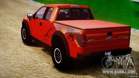 Ford F150 SVT Raptor 2011 for GTA 4 back left view