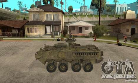 Stryker CDMW2 for GTA San Andreas left view