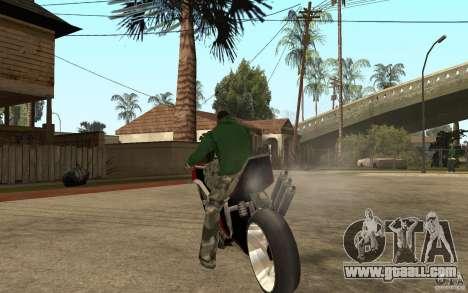 Streetfighter NRG 500 Snakehead v2 for GTA San Andreas back left view