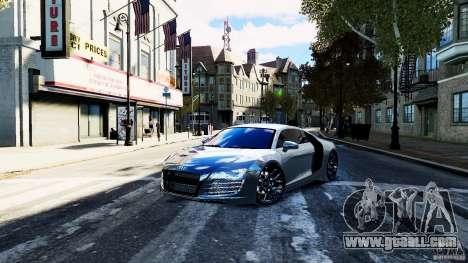 Audi R8 Spider 2011 for GTA 4