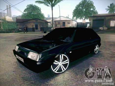 VAZ 2108 Tuning for GTA San Andreas back left view