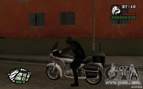 Blackwatch from Prototype for GTA San Andreas third screenshot