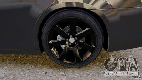 Chrysler 300 SRT8 2012 for GTA 4 inner view
