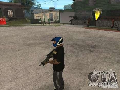 Pp-19 Bizon with optics for GTA San Andreas forth screenshot