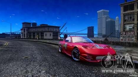 Mazda RX-7 FnF for GTA 4