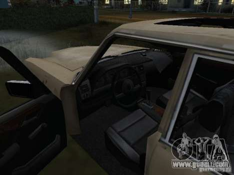 Mercedes-Benz of Call of Duty 4 for GTA San Andreas right view