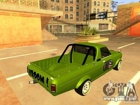 Nissan Sunny K Truck FISH ART for GTA San Andreas left view