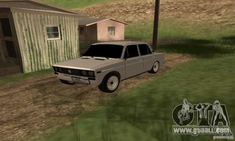 VAZ 2106 Tuning Light for GTA San Andreas side view