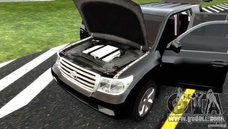 Toyota Land Cruiser 200 RESTALE for GTA 4 interior