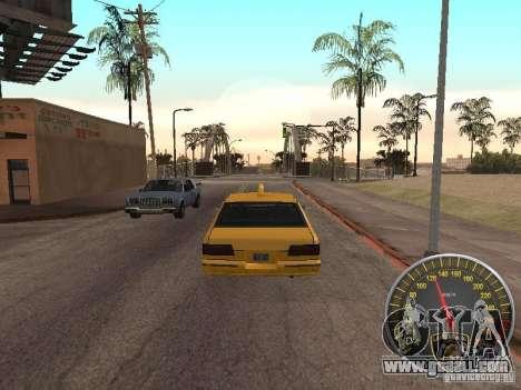 Lamborghini Speedometer for GTA San Andreas