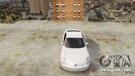 Infiniti G35 for GTA 4 right view
