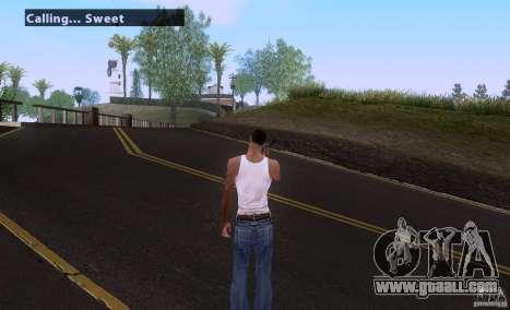 Call for Homies V2.0 for GTA San Andreas second screenshot