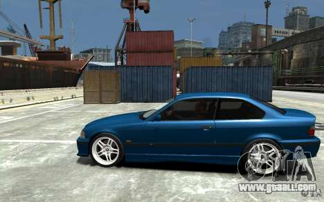 BMW M3 E36 v1.0 for GTA 4 back left view