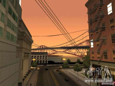 New Sky Vice City for GTA San Andreas third screenshot