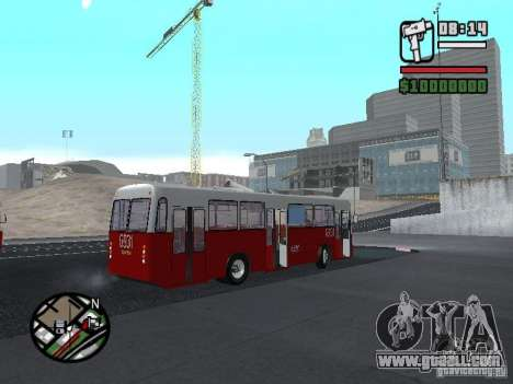 Ikarus Ik4 for GTA San Andreas back view