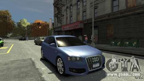 Audi S3 2006 v1.1 tonirovanaâ for GTA 4