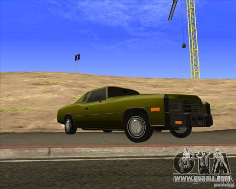 HD Esperanto for GTA San Andreas back view