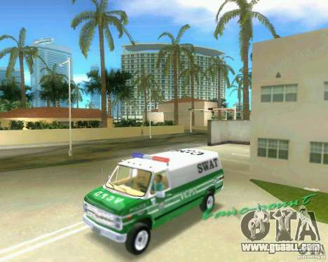 Chevrolet Van G20 for GTA Vice City