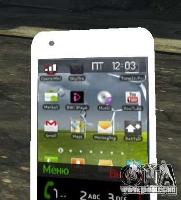 Samsung Galaxy S2 for GTA 4 forth screenshot