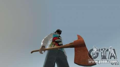 Accetta da pompiere for GTA 4