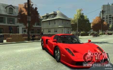 Ferrari Enzo [EPM] v1 for GTA 4 back view