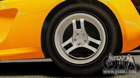 Audi R8 Spyder for GTA 4 back view