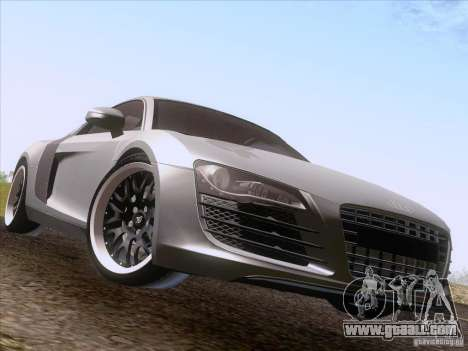 Audi R8 Hamann for GTA San Andreas right view