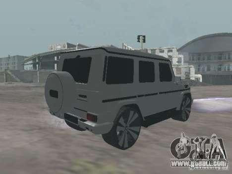 Mercedes-Benz G500 Kromma 1480 for GTA San Andreas back left view