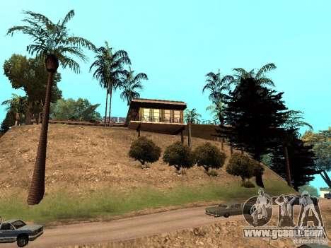 Reteksturirovannyj House CJeâ V1 for GTA San Andreas third screenshot