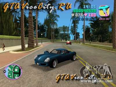 Porshe from GTA 3 for GTA Vice City