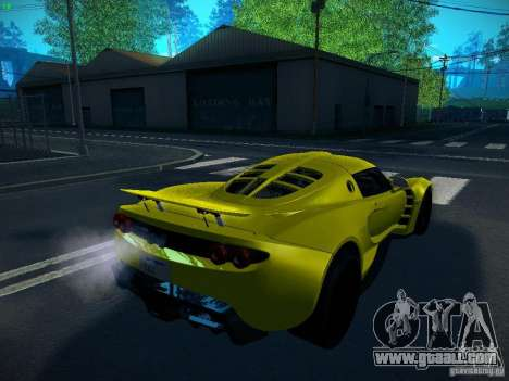 Hennessey Venom GT Spyder for GTA San Andreas left view
