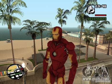Iron man 2 for GTA San Andreas