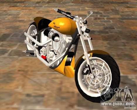 Race chopper by DMC for GTA San Andreas